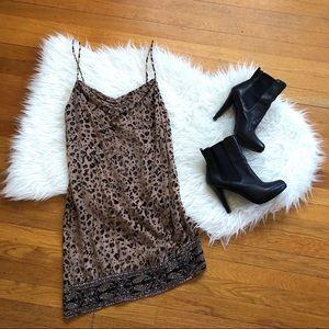 Haute Hippie | NWT Beaded Velvet Burnout Dress 2